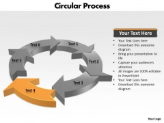 Ppt Components Of Circular PowerPoint Menu Template Process Chart Templates