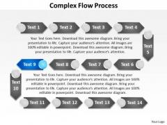 Ppt Compound Flow PowerPoint Theme Procurement Process Presentation Templates