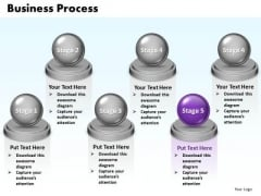 Ppt Concepts Of World Business Presentation Process 6 Power Point Stage PowerPoint Templates