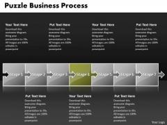 Ppt Connected Puzzle World Mole Concept PowerPoint Presentation Process Diagarm Templates