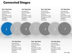 Ppt Connected Seven Stages Of Business PowerPoint Presentation Process Templates