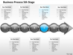 Ppt Consecutive Description Of Business Process Stage 5 PowerPoint Templates