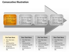 Ppt Consecutive Mobile Marketing PowerPoint Presentation Steps An Arrow Templates