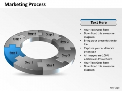 Ppt Considerable Eight PowerPoint Slide Numbers Of Marketing Process Templates