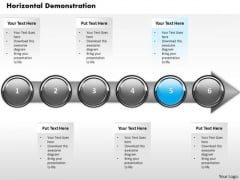 Ppt Consistent Demonstration Of Financial Process Using Stage 5 PowerPoint Templates