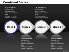 Ppt Consistent Series Of Four Phase Diagram Involved Procedure PowerPoint Templates