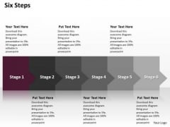 Ppt Consistent Way To Limit Social Presentation Losses Six Steps PowerPoint Templates