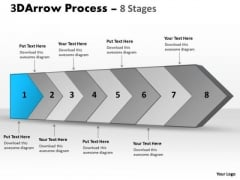Ppt Continous Multinational Flow Spider Diagram PowerPoint Template 2 Design