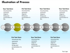 Ppt Continual Illustration Of Process Using 7 Stages PowerPoint Templates