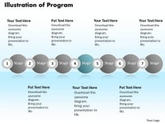 Ppt Continual Illustration Of Program Using 7 Power Point Stage PowerPoint Templates