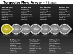 Ppt Continual Seven Power Point Stage Linear Flow Project Management PowerPoint 2 Graphic