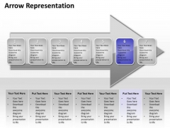 Ppt Continuous Abstraction Of Purple Stage An Arrow PowerPoint Templates