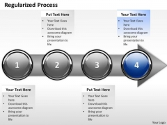 Ppt Continuous Description Of Arrow Process Through 4 State Diagram PowerPoint Templates
