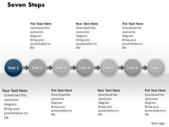 Ppt Continuous Flow Process Charts Of 7 Steps1 PowerPoint Templates