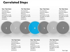 Ppt Correlative Seven PowerPoint Slide Numbers Of Business Process Templates