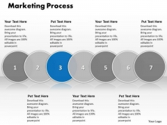 Ppt Correlative Seven Stages Of Social Media PowerPoint Slide Text Process Templates