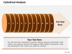 Ppt Cylindrical Analysis Of 11 Steps Involved Process PowerPoint Templates
