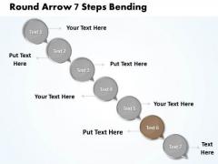 Ppt Descending Process 7 PowerPoint Slide Numbers Diagram Templates