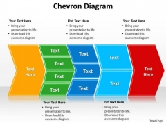 Ppt Describing Multiple Components Using Chevron Diagram PowerPoint Templates