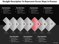 Ppt Description To Represent Seven Steps In Process PowerPoint Templates