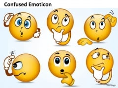 Ppt Design PowerPoint Presentation Of Confused Emoticon Templates