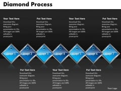 Ppt Diamond Process 7 State PowerPoint Presentation Diagram Templates