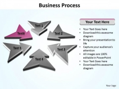 Ppt Direction Arrows Of World Business PowerPoint Templates Process Editable
