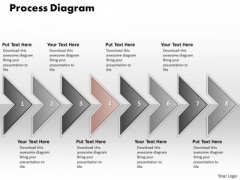 Ppt Eight Phase Diagram Social Media PowerPoint Presentation Process Templates