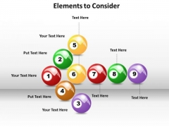Ppt Elements To Consider PowerPoint Templates