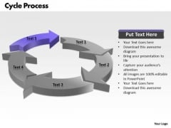 Ppt Events In Cycle Writing Process PowerPoint Presentation 5 Stages Templates