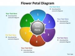 Ppt Flower Petal Diagram Presentation PowerPoint Tips Editable Templates