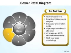 Ppt Flower Petal Layout Free Editable PowerPoint Maps For Presentations Templates