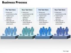 Ppt Free Business Sample Presentation PowerPoint Process Management Diagram Templates