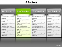 Ppt Go Green PowerPoint Presentation Table Listing Its Factors Components Templates