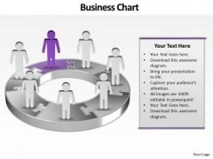 Ppt Group Of Pc World PowerPoint Remote Concept People With 3d Pie Chart Templates