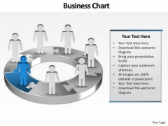 Ppt Group Of World Business PowerPoint Templates People With 3d Pie Diagram