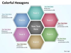 Ppt Hexagon Shapes Chart Presentation PowerPoint Tips Free Download Templates