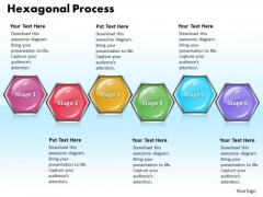 Ppt Hexagonal Forging Process PowerPoint Slides 6 State Diagram Templates