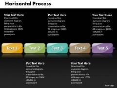 Ppt Horizontal Military Style PowerPoint Templates 5 Phase Diagram