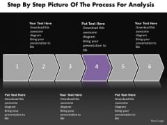 Ppt Horizontal Practice The PowerPoint Macro Steps Of Process Templates