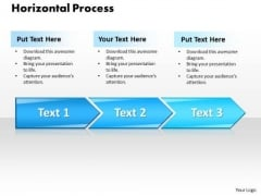 Ppt Horizontal Style 3 Stages 1 PowerPoint Templates