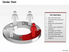 Ppt Illustration Of Financial Pie Chart Marketing Presentation PowerPoint Templates
