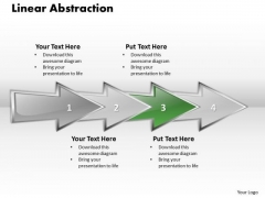 Ppt Linear Abstraction Arrow Animated Graph PowerPoint 2007 Templates