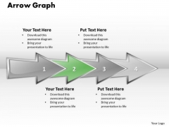 Ppt Linear Abstraction Arrow Cause And Effect Diagram PowerPoint Template Templates