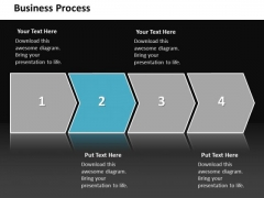 Ppt Linear Action Free Business Layouts Process Management Diagram PowerPoint Templates