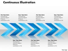 Ppt Linear Arrows 7 State PowerPoint Project Diagram Templates