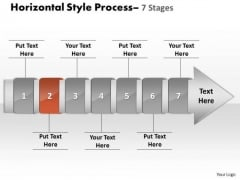 Ppt Linear Demonstration Of 7 Power Point Stage Process Business Management PowerPoint 3 Image