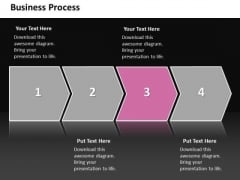 Ppt Linear Flow Business PowerPoint Theme Process Management Chart Templates