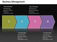 Ppt Linear Flow World Business PowerPoint Templates Process Management Diagram