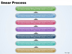 Ppt Linear Forging Process PowerPoint Slides 7 Stage Templates